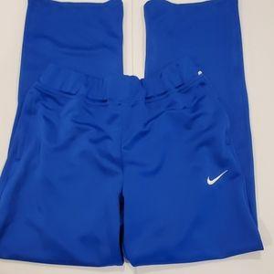 Nike dri Fit track pants zipper cuff and  pockets